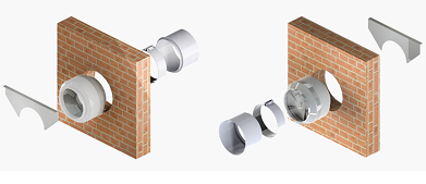 Установка вентилятора в канал вентиляции