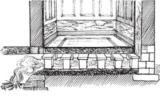 Прямоточная система в Риме