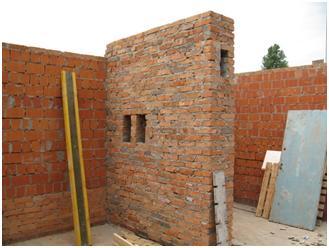 Подготовка стен для вентиляции