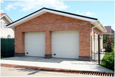Двойной гараж