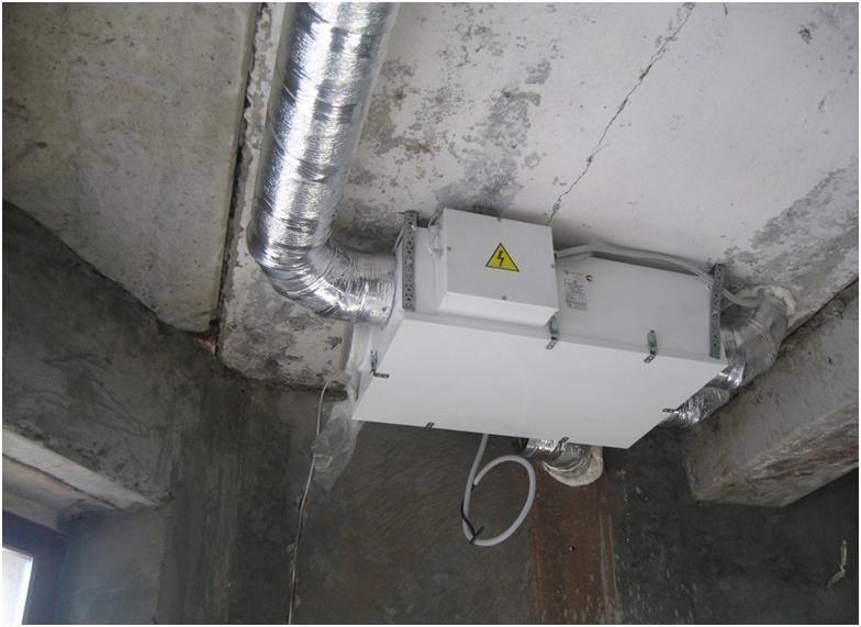 Основной блок вентиляции