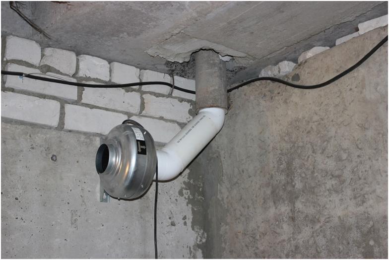 Механическая система вентилирования