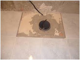 Отверстие в стене для вентиляции