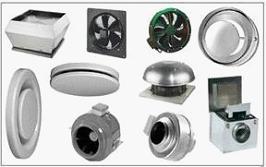 Разновидность вентиляторов