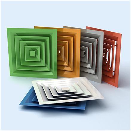 Разноцветные решетки