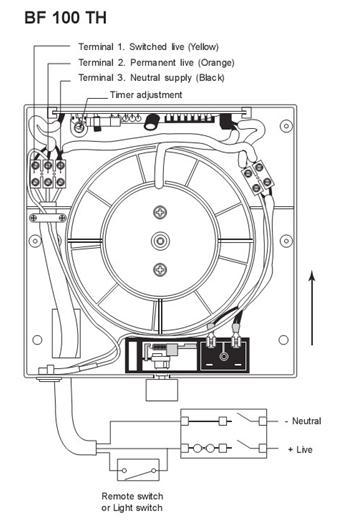 Схема вентилятора