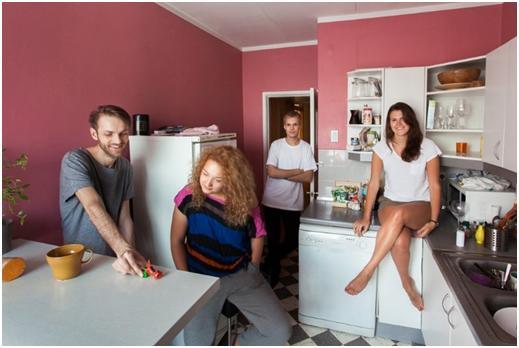 Жители квартиры