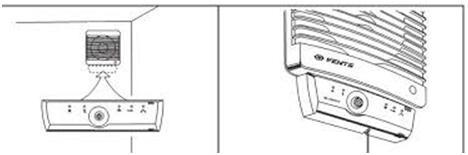 Вентилятор с датчиком