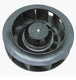 Фотография центробежного вентилятора