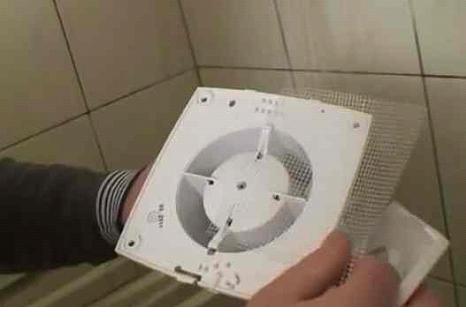 На вентилятор устанавливается сетка