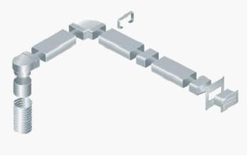 Короб для системы вентилирования