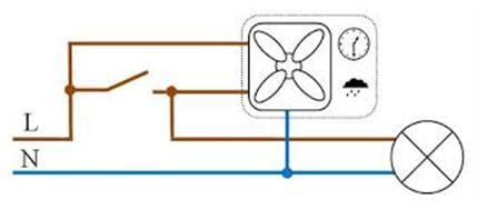Электрическая схема подключения устройства