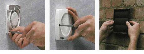 Процесс установки устройства