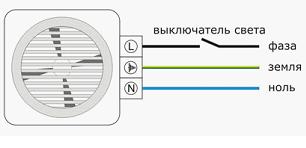 Электросхема с обозначениями