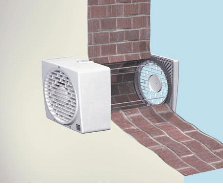 Рисунок настенного вентилятора