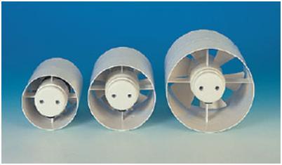 Вентиляторы с круглым сечением