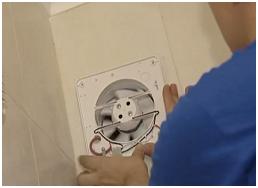 Установка вентилятора на стену