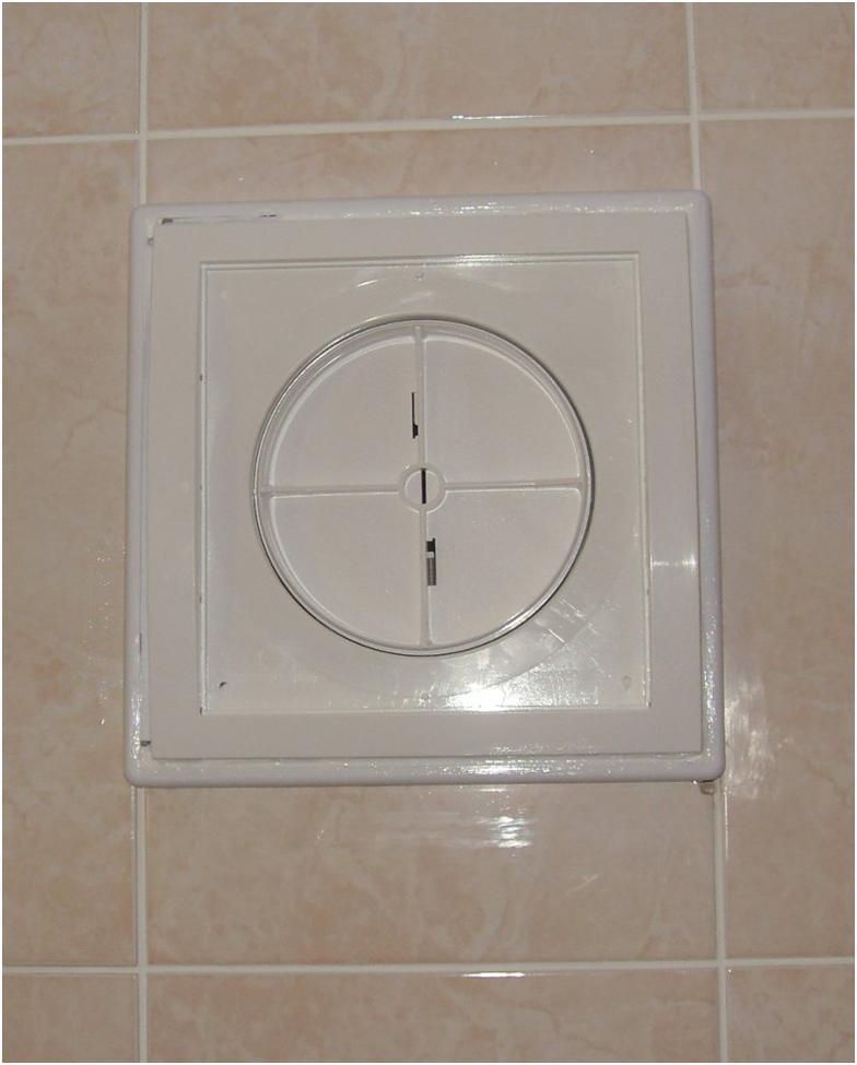 Обратный клапан на стене