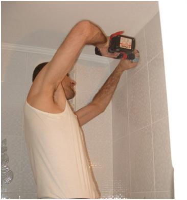Подготовка вентиляционного отверстия