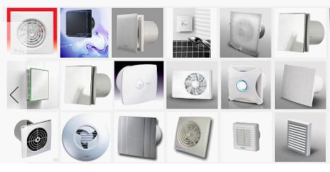 Вентиляторы различных видов
