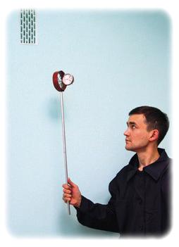 Прибор для измерения тяги