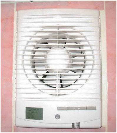 Вентилятор с дополнительными функциями