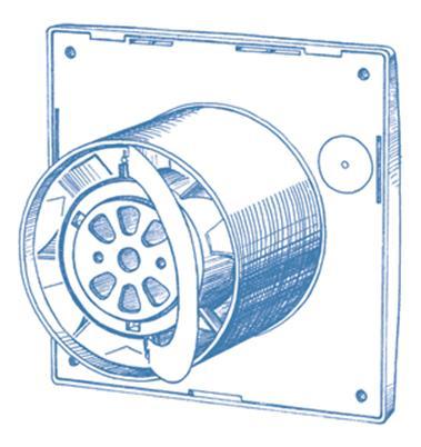 Нарисованный вентилятор