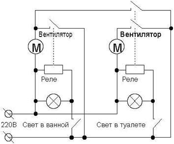 Электрическая схема подключения