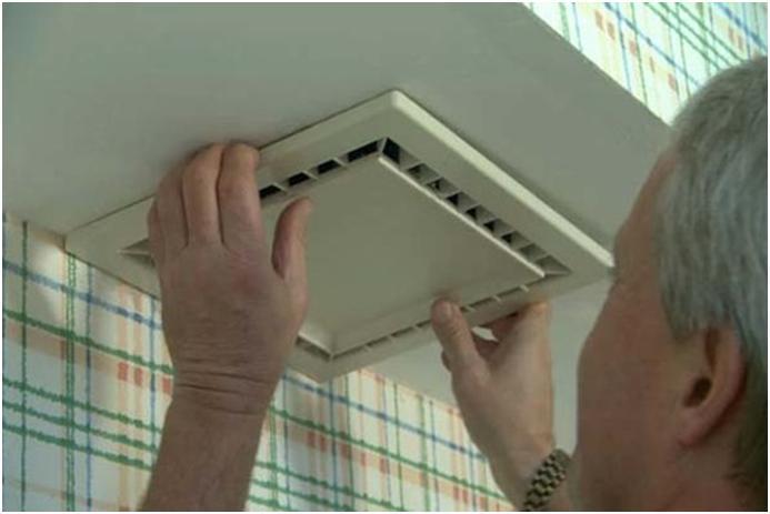 Монтаж потолочного вентилятора