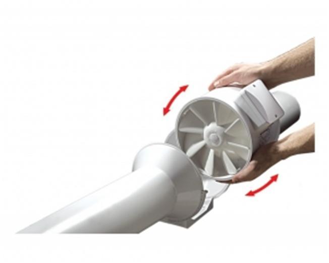 Монтирование вентилятора в канал