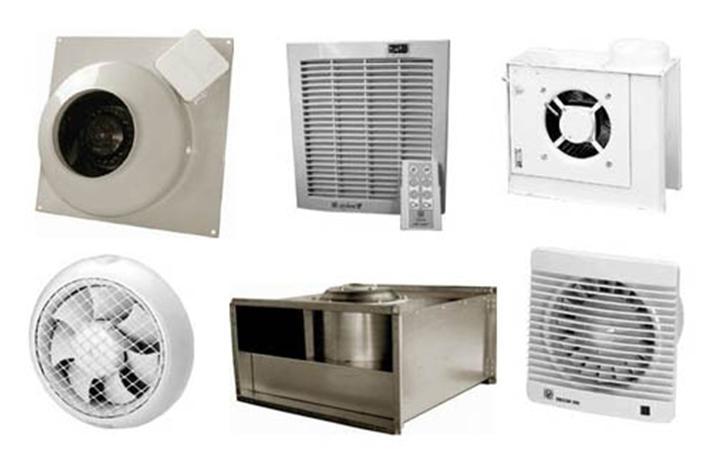 Типы вентиляторов