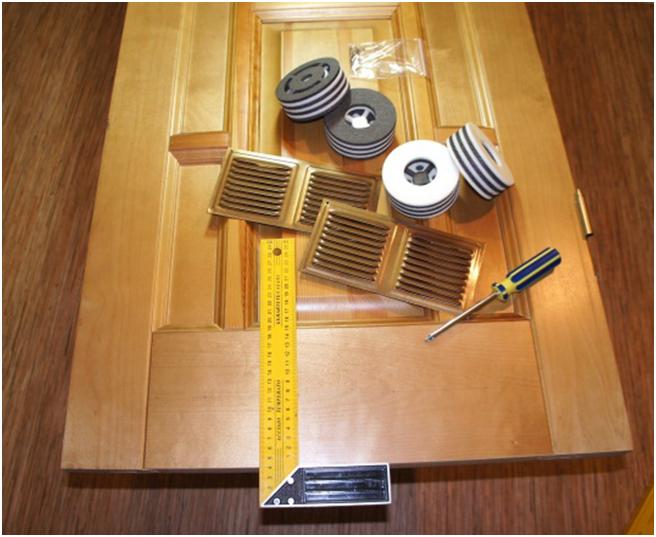 Вентиляционные клапаны для двери