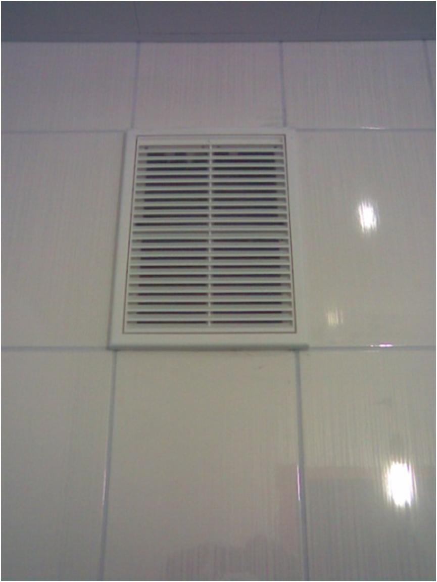 Вентиляционное отверстие с решеткой