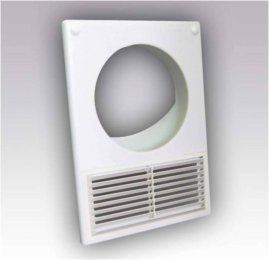 Вентиляционная решетка с круглым отверстием