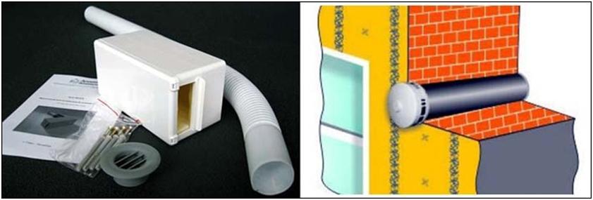 Типы труб для вентиляционного канала