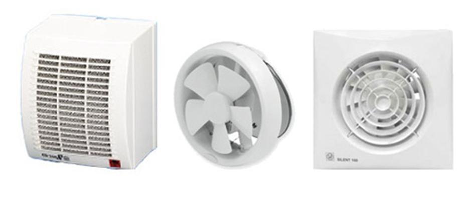 Широкий выбор устройств вентиляции