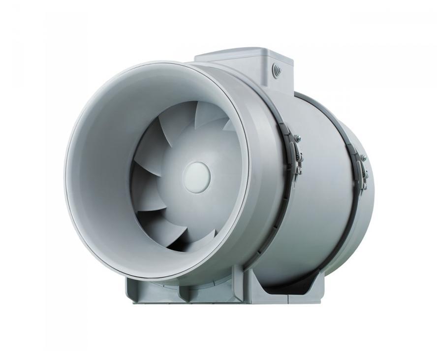 Вентилятор центробежно-осевого типа