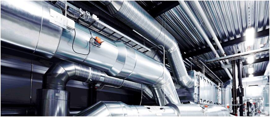 Производственные вентиляционные каналы