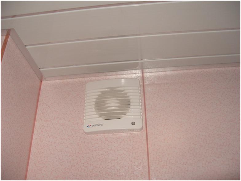 Нагнетатель воздуха под потолком