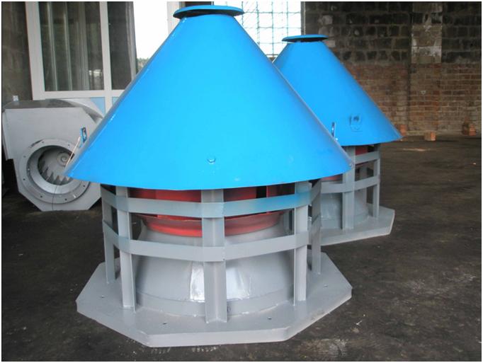 Вентиляционная установка на крыше