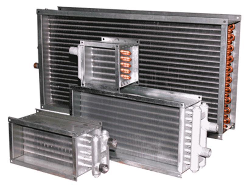 Промышленный калорифер для производственной вентиляции