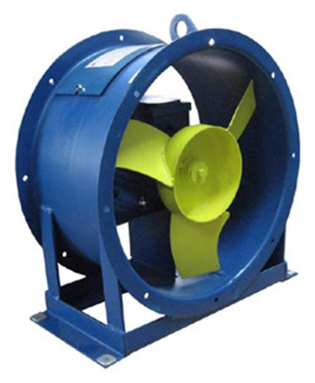 Промышленный осевой вентилятор