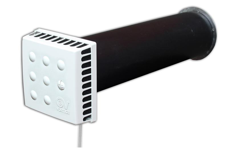 Образец стенного клапана для притока воздуха