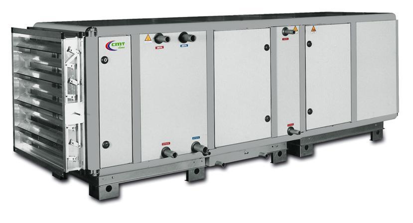 Агрегат для кондиционирования воздуха на промышленном объекте