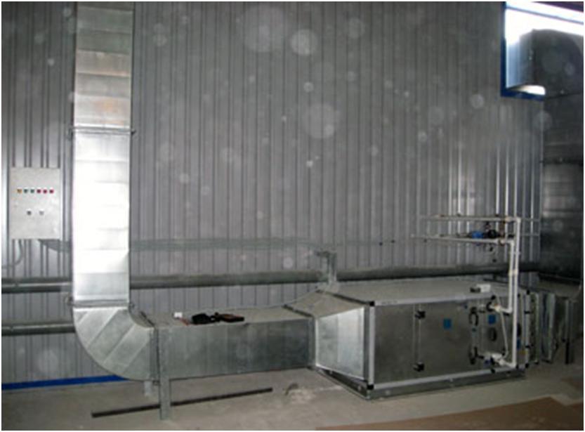 Организация притока воздуха в помещение