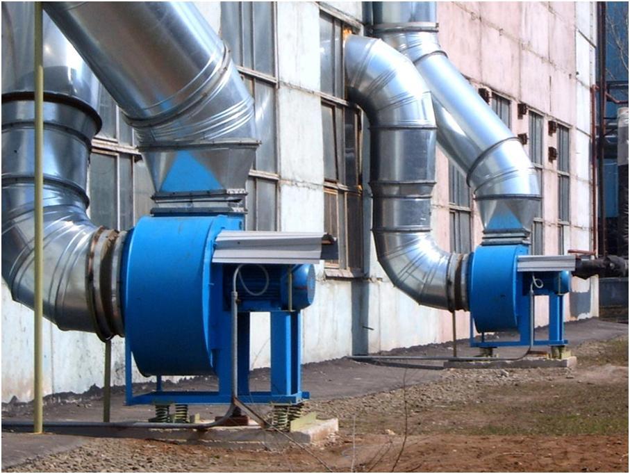 Организация вентиляционной системы объектов промышленности