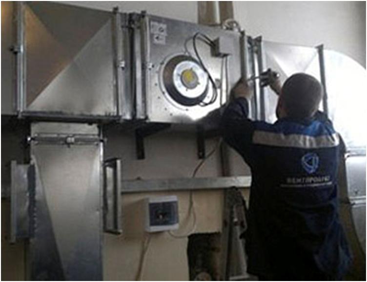 Подключение оборудования вентиляции