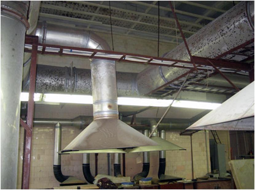 Вентиляционная система механического типа