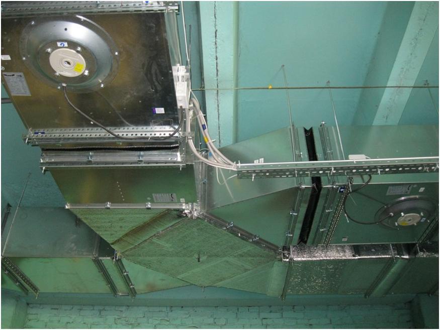 Комплекс приточно-вытяжной вентиляции