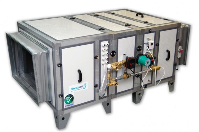 Приточный агрегат с водяным нагревателем